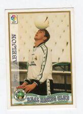 figurina card fichas - CARD LIGA 97/98 1997  - N. 272 REAL RACING CLUB ABEJON
