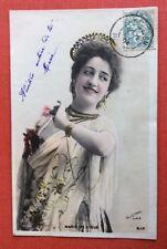 CPA. Artiste Marie DE L'ISLE. Reutlinger. 1904.