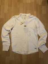 Abercrombie & Fitch Henley - White - Small