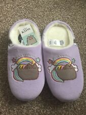 MARKS AND SPENCER KIDS GIRLS  /'GLOW IN THE DARK/' PINK SLIPPERS ALL SIZES  BNWT