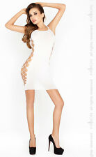 Robe blanche BS026 - Passion lingerie