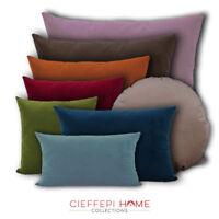 Federa velluto VELVET per cuscino arredo in 7 dimensioni e 20 colori CFP HOME