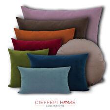 VELVET Federa velluto per cuscino arredo in 7 dimensioni e 20 colori CFP HOME