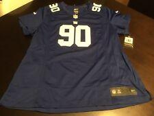 Women's Nike NFL New York Giants Pierre-Paul Football Jersey Size 2XL 469909 404