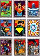 1993 RETURN OF SUPERMAN COMPLETE BASIC TRADING CARD SET