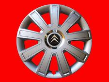 "4x14"" Wheel trims hub caps  for Citroen  full set silver"