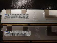 Samsung 64GB 16 x 4GB 2Rx4 PC3-10600R DDR3-1333Mhz 240Pin ECC REG SERVER RAM