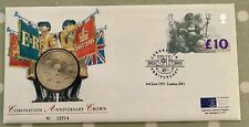 Stamp/Coin Cover -1993 - 40th Anniversary Of The Coronation £10 Stamp & £5 Coin