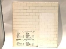 PINK FLOYD The Wall 2-LP Columbia Records PC2-36183 Demo Gold PROMO Timing Strip