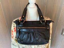 FOSSIL Black Leather Handbag