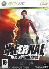 INFERNAL HELL'S VENGEANCE for Xbox 360 - with box & manual - PAL