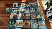 Blu ray sammlung 19 Stück plus 2 DVDs