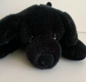RB Russ For Target Black Lab Dog Plush Stuffed Animal Clean