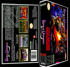 King of Dragons - SNES Reproduction Art Case/Box No Game.