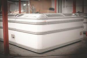 AHT Paris 1.85m Commercial Chest Freezer (Sliding Glass) - CALL 07800 733 055
