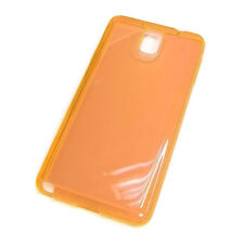 Crystal Orange TPU Silicone Gel Phone Case Soft cover for Galaxy Note3 III N9000