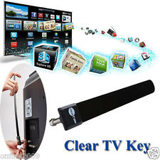Clear TV Key HDTV TV Digital Indoor Antenna 1080p Ditch Cable As Seen on TV Hot