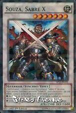 Yu-Gi-Oh ! Carte Souza, Sabre X  SP15-FR033 (SP15-EN033) - VF/SHATTERFOIL