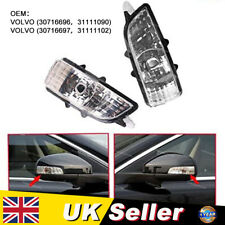 Fit for Volvo S40 V50 C30 S60 V70 Front Right Wing Mirror Indicator Lens Lights