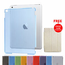 Hard Back Clear Case Cover for Apple iPad 2 3 4 Mini 2 3 1 Air 2 1
