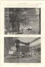 1898 Elswick Steelworks Hydraulic Forging Press Krupp
