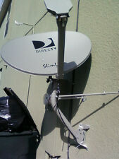 NEW 4K DIRECTV HD HIDEF KAKU 3 SINGLE LINE SWiM SWM3 SATELLITE DISH, 13 tuner
