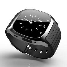 M26 Bluetooth Wrist Smart Watch Phone Mate For IOS Android iPhone Samsung Black