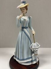 "2003 Home Interior Porcelain Figurine. "" Lady Covington� 14044-03 China No base"