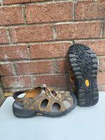 Merrell Men's Continuum Acapulco Canteen Sandals Size 8 Brown Gray