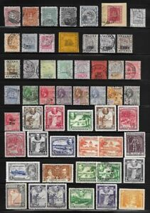 Collection of Old Stamps - BRITISH GUIANA . . . . many better