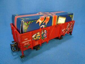 LGB  #4021 CT~ Christmas Gondola with Gift Box Load ~ G Gauge ~ IN BOX EUC  5