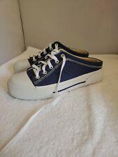 Keds Womens Blue Canvas Lace Up/Slip On Tennis shoes Slides US Sz 8.5