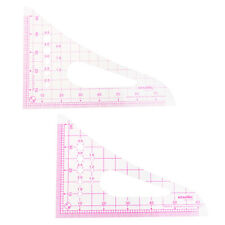 1pc Plastic Triangle French Curve Metric Ruler Measure for Dressmaker Sewing