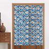Japanese Noren Doorway Curtain Door Half Curtain Kitchen Room Divider Tapestry