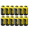12-Pack Exp 2027 USA Garberiel Flashlight 85177 CR123A 3 Volt Lithium Batteries