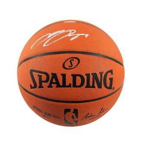 LeBron James Signed Spalding NBA Basketball Autograph