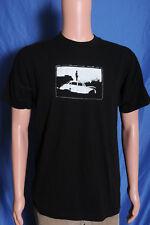 Vtg '90s 700 Miles band double sided black promo t shirt M