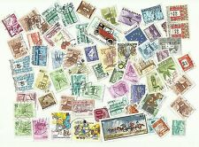 Hungary postage stamps, on & off paper, used x 71