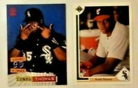 FRANK THOMAS Bird Flipping Pair Mint - RARE TO FIND BOTH - FREE SHIPPING!!!