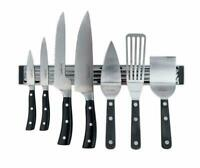 Wall Mount Magnetic Knife Storage Holder Chef Rack Strip Utensil Kitchen Tool AA