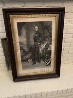"Antique WINTERHALTER Prince Albert Print, Circa 1860s, 40"" X 30"""