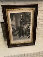 "Antique WINTERHALTER Prince Albert Print, Circa 1860s, 40"" X 30"""