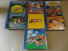 Sega Dreamcast Spielesammlung 7Stk.