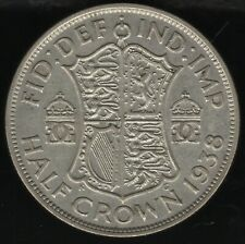 More details for 1938 george vi silver half crown | british coins | pennies2pounds