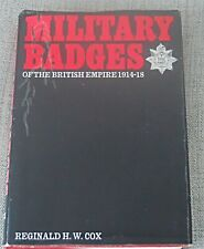 More details for military badges  of the british empire by reginald h.w.cox