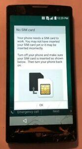 [BROKEN] LG Escape 2 H443 8GB Black (AT&T) Smartphone Fast Ship Parts Repair