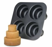Chicago Metallic Non-Stick Multi-Tier Cake Pan