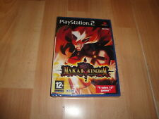 MAKAI KINGDOM  RPG DE KOEI PARA LA SONY PLAY STATION 2 PS2 NUEVO PRECINTADO
