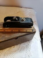 "Salesman sample VTG/Antique 1930's 4"" Mini bullnose cast iron carpenters plain"