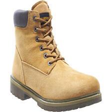 """Wolverine W01191 Men's 6"""" Waterproof Soft Toe Tan Wheat Work Boots Size 13 Us"""